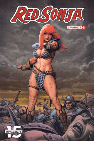 Red Sonja #1 (Linsner Cover)