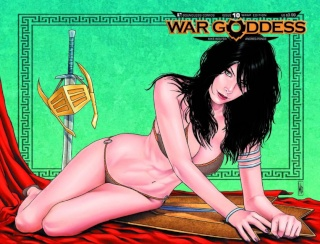 War Goddess #10 (Wrap Cover)