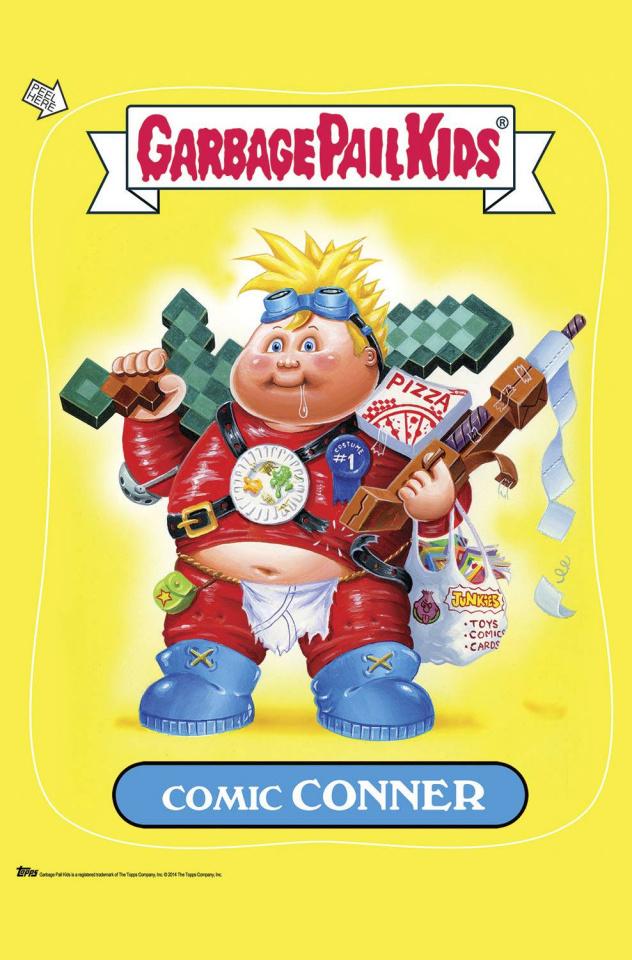Garbage Pail Kids: Comic Book Puketacular #1 (10 Copy Cover)