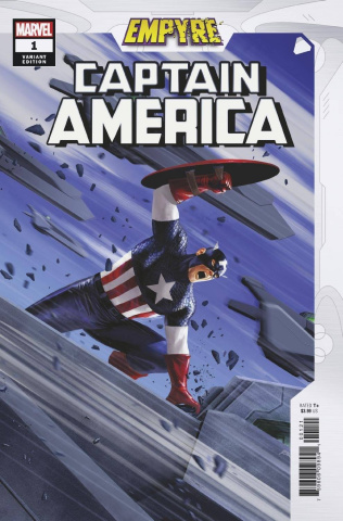 Empyre: Captain America #1 (Epting Cover)