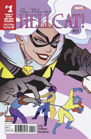 Patsy Walker, a.k.a. Hellcat #11