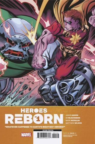 Heroes Reborn #1 (McGuinness 2nd Printing)