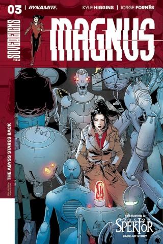 Magnus #3 (Camuncoli Cover)