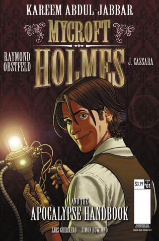 Mycroft Holmes #1 (McCaffrey Cover)