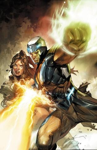 X-O Manowar #0 (Mann Cover)