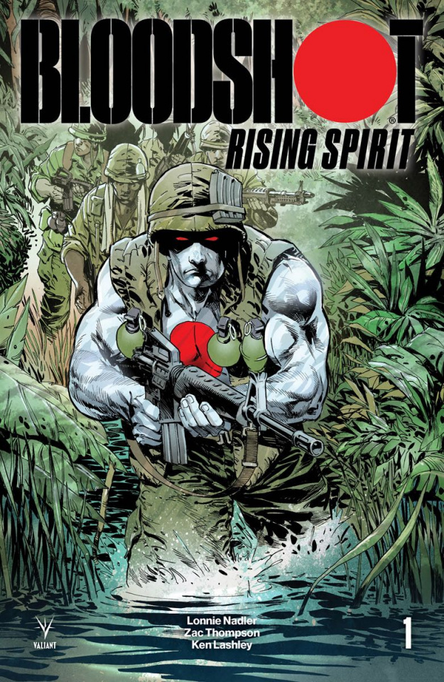 Bloodshot: Rising Spirit #1 (20 Copy Johnson Cover)
