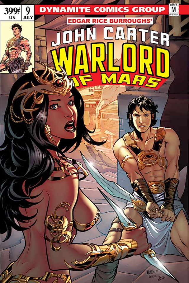 John Carter: Warlord of Mars #9 (Lupacchino Cover)