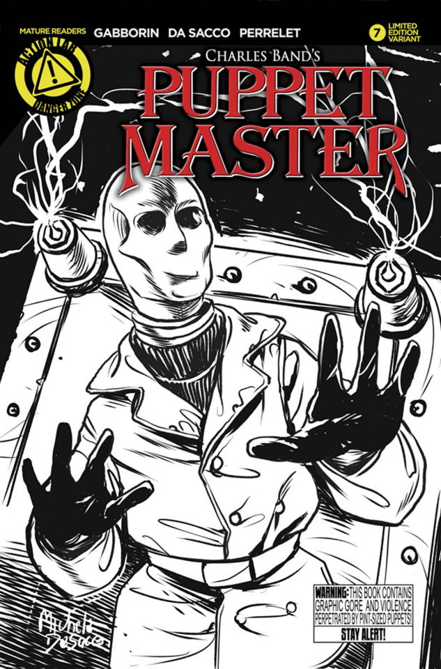 Puppet Master #7 (Decapitron Sketch Cover)