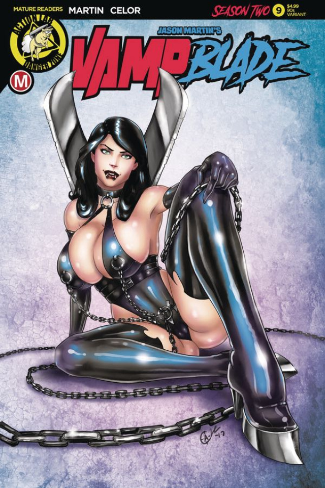 Vampblade, Season Two #9 ('90s Cover)