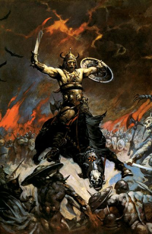 Conan: The Frazetta Cover Series #8