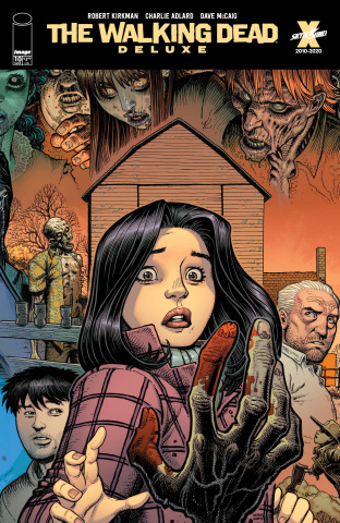 The Walking Dead Deluxe #10 (Adams & McCaig Cover)