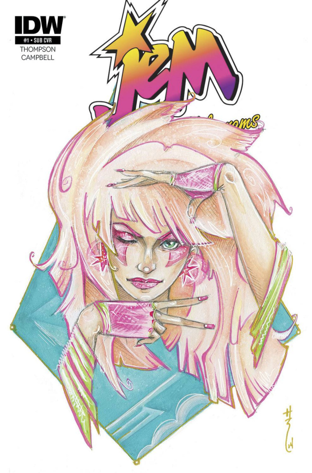 Jem and The Holograms #1 (Subscription Cover)