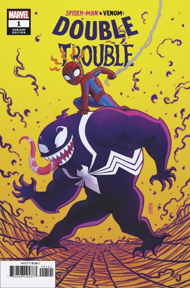 Spider-Man & Venom: Double Trouble #1 (Bartel Cover)