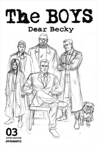 The Boys: Dear Becky #3 (Robertson Line Art Premium Cover)