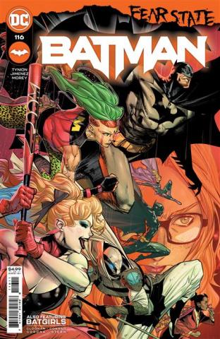 Batman #116 (Jorge Jimenez Cover)