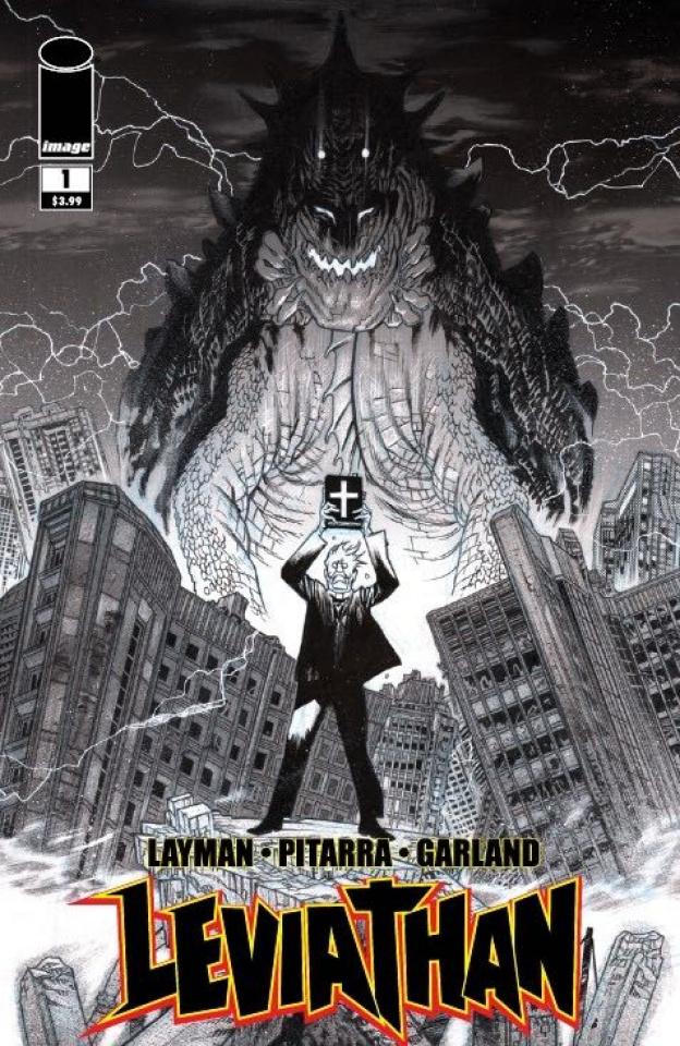 Leviathan #1 (25 Copy Harren B&W Cover)