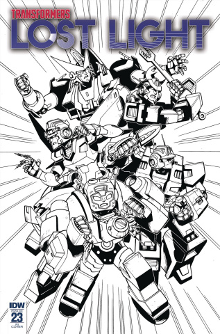 The Transformers: Lost Light #23 (10 Copy Lawrence Cover)