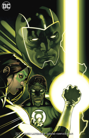 Green Lanterns #53 (Variant Cover)