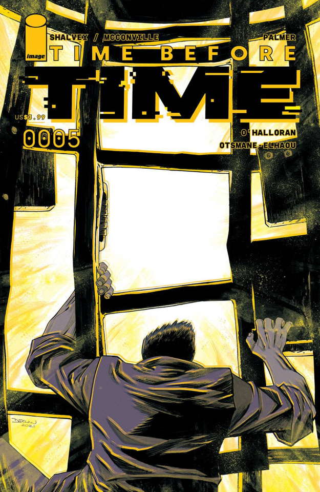 Time Before Time #5 (Shalvey Cover)