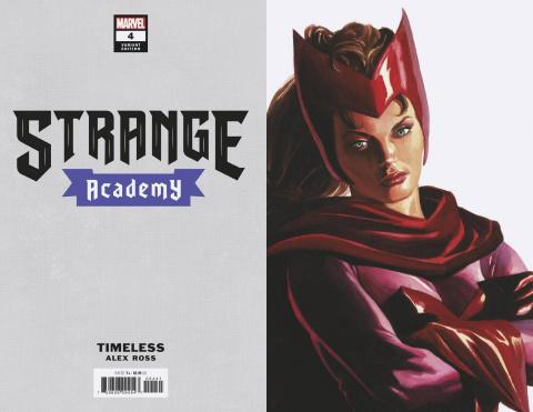 Strange Academy #4 (Alex Ross Doctor Strange Timeless Cover)