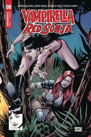 Vampirella / Red Sonja #8 (7 Copy Gorham Homage Cover)