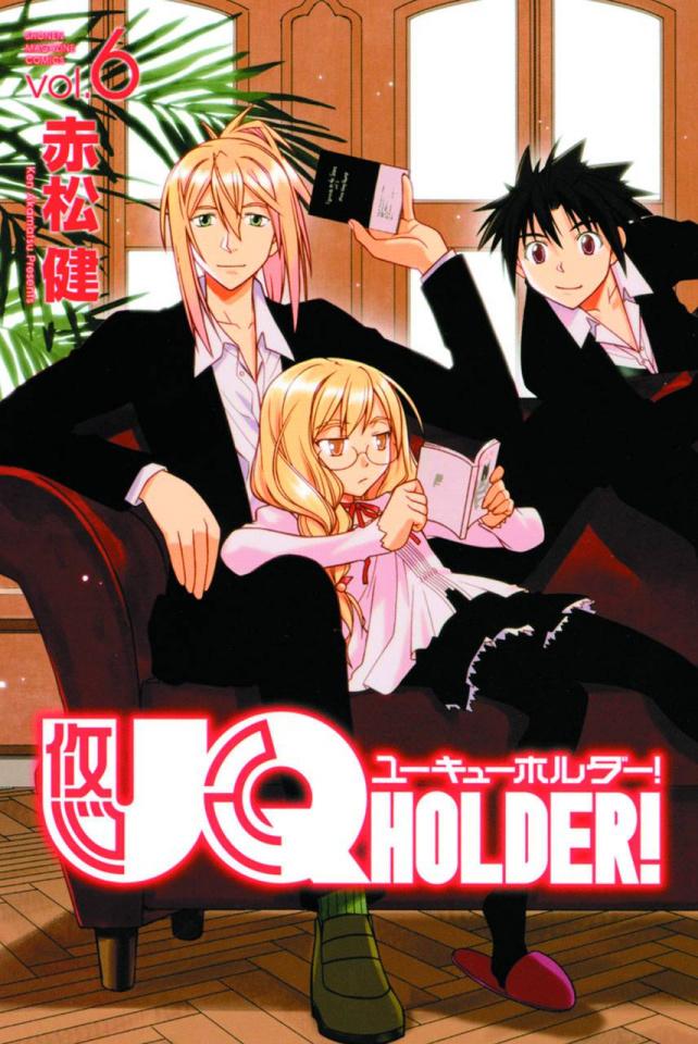 UQ Holder! Vol. 6