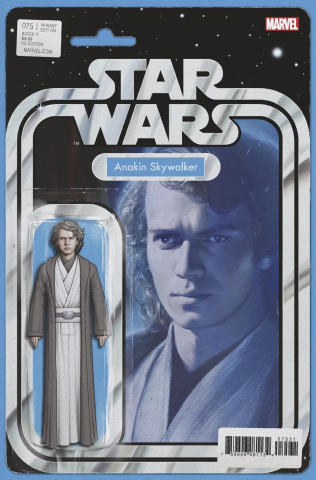 Star Wars #75 (Christopher Action Figure Cover)