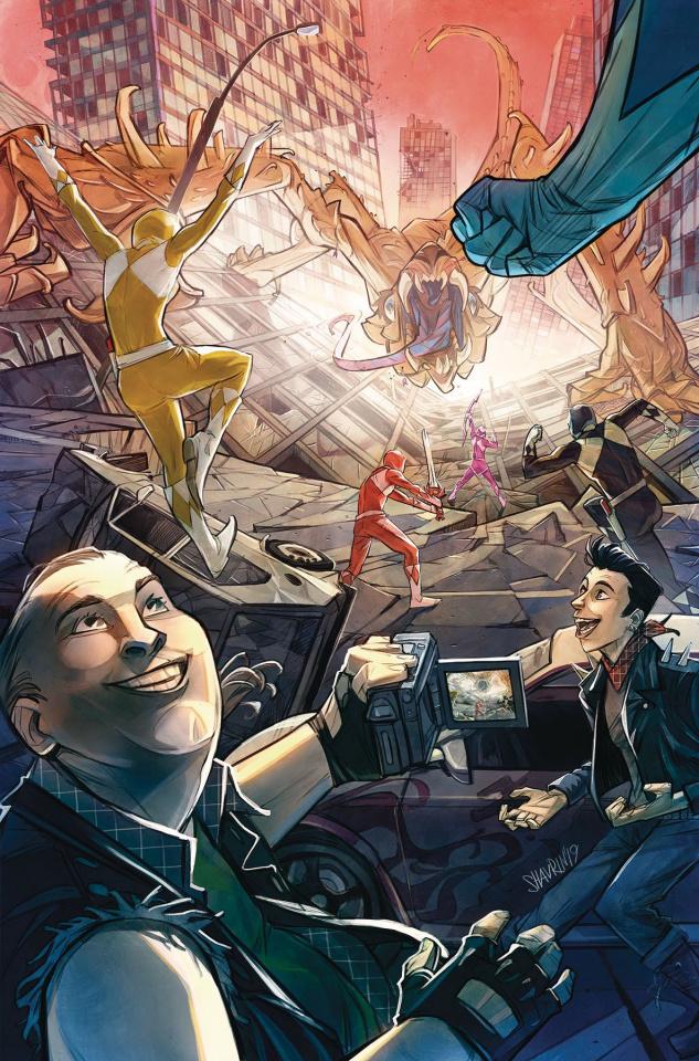 Go, Go, Power Rangers! #24 (Shavrin Cover)
