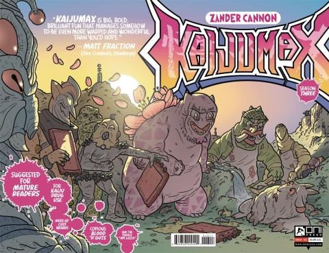 Kaijumax, Season 3 #1