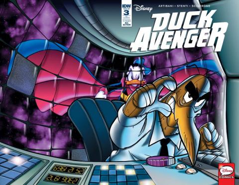 Duck Avenger #3 (10 Copy Cover)