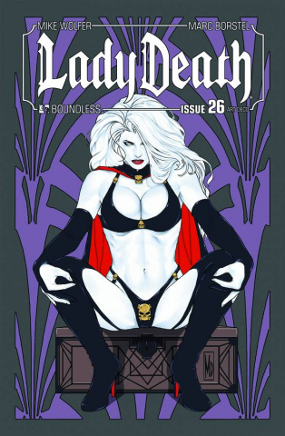 Lady Death #26 (Art Deco Cover)