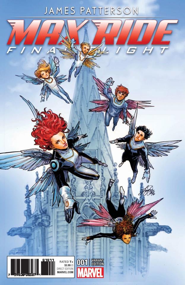 Maximum Ride: Final Flight #1 (Oum Cover)