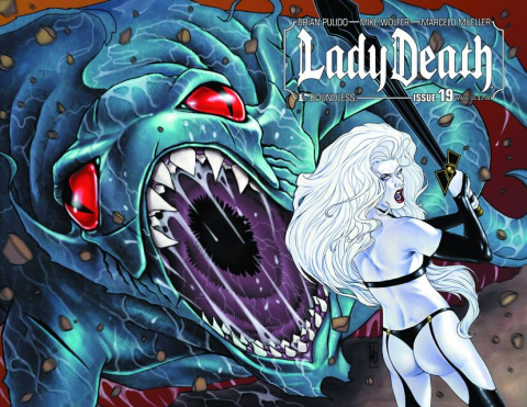 Lady Death #19 (Wrap Cover)