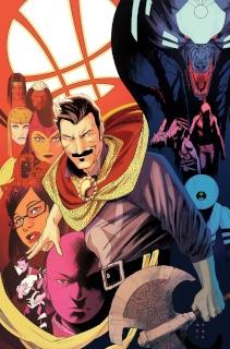 Doctor Strange #6 (Anka Story Thus Far Cover)