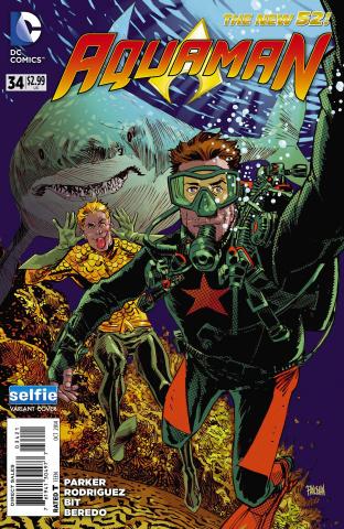 Aquaman #34 (Selfie Cover)