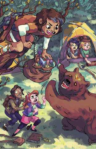 Lumberjanes #7 (20 Copy Pietsch Cover)