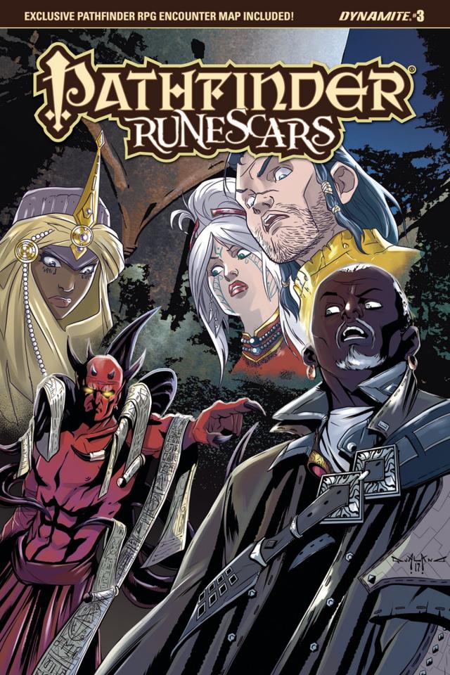 Pathfinder: Runescars #3 (Qualano Cover)