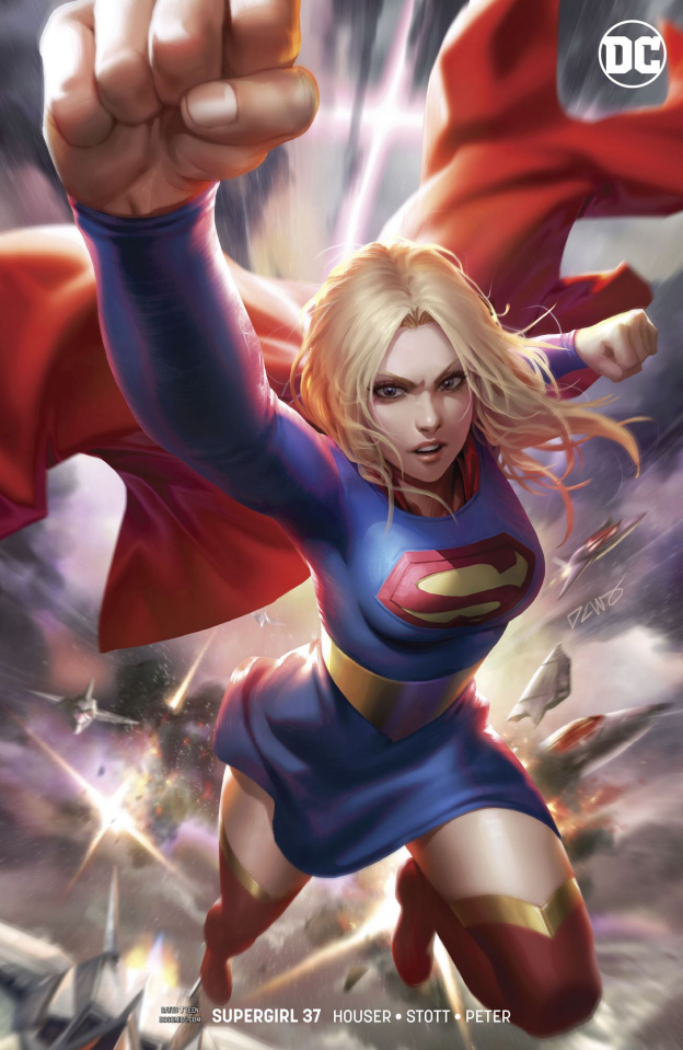Supergirl #37 (Card Stock Cover)