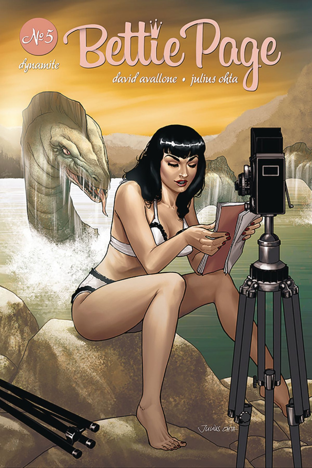 Bettie Page #5 (Ohta Cover)