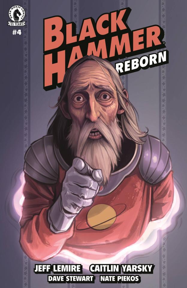 Black Hammer: Reborn #4 (Yarsky Cover)