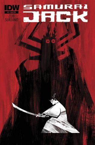 Samurai Jack #5 (Subscription Cover)