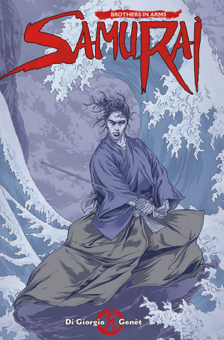 Samurai: Brothers in Arms #4 (Kurth Cover)