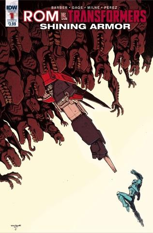 ROM vs. The Transformers: Shining Armor #1 (Roche Cover)