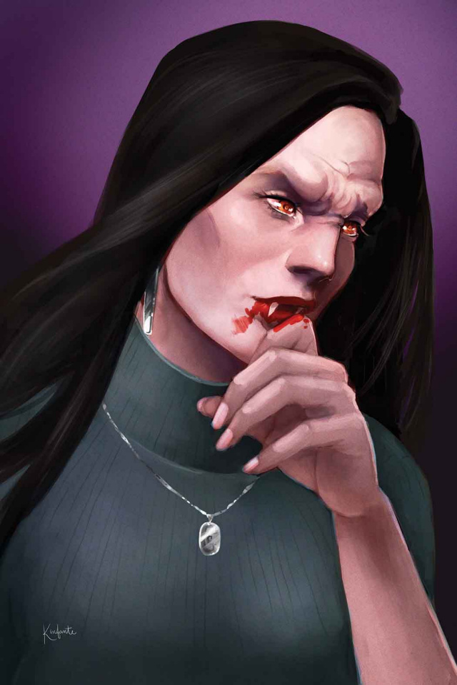 Buffy the Vampire Slayer #3 (Vampire Infante Cover)