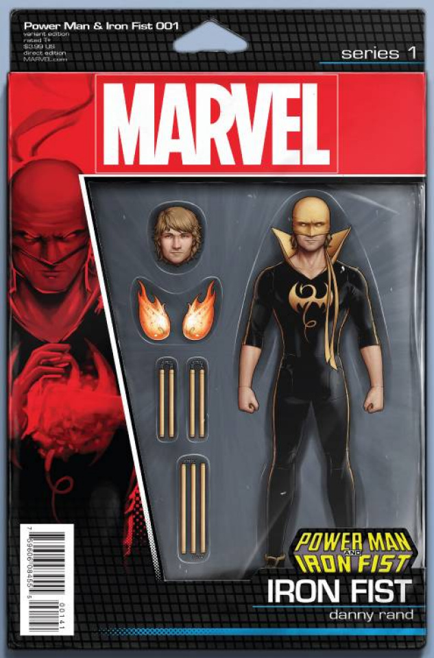 Power Man & Iron Fist #1 (Action Figure Cover)