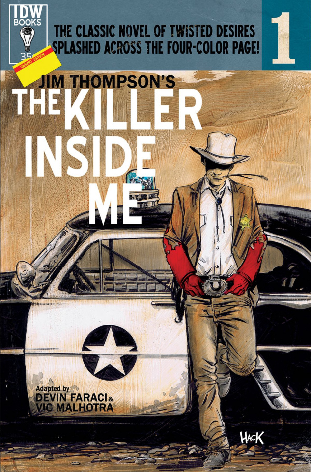 The Killer Inside Me #1 (Subscription Cover)