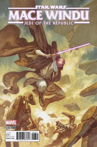Star Wars: Mace Windu, Jedi of the Republic #3 (Tedesco Cover)