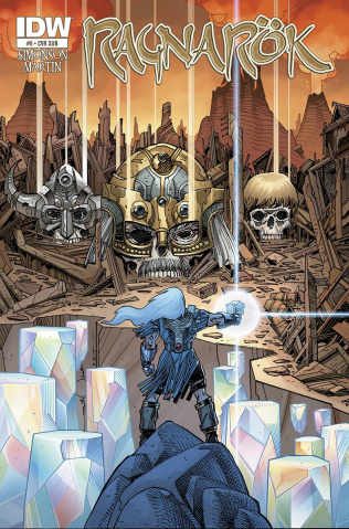 Ragnarök #6 (Subscription Cover)