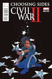 Civil War II: Choosing Sides #2 (Ward Cover)