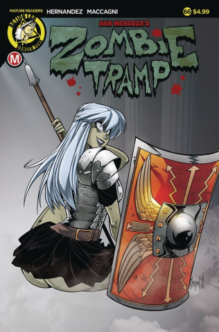 Zombie Tramp #66 (Maccagni Cover)